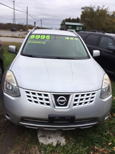 2009 NISSAN ROGUE AWD S AUTOMATIC 4 CYL 2.5L