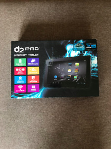 "NIB D2 Pad D2-912 9"" Tablet - Excellent Condition"