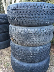 Toyo open country winter tires.  255/55R18