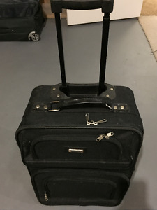 Small Black Roller Suitcase