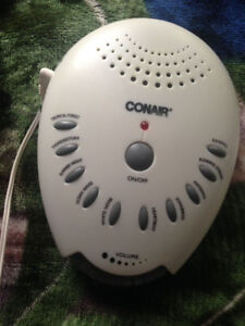 Conair Sound machine-white noise/sound therapy