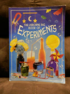 4 science experiment/technology books