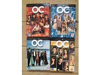 The OC DVD box set collection 4 seasons