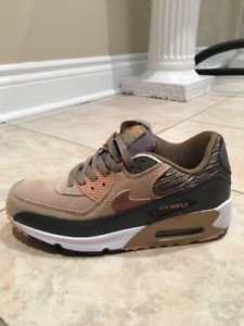 Nike Air Max 90 Trainers Rose Gold White - Womens