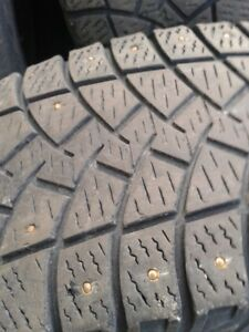 "Set of 4LT245/75/17"" Goodyear Winter tires"