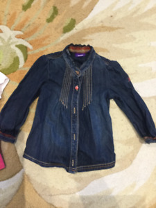 Blouses for 2 yo girl - Gymboree and Mexx