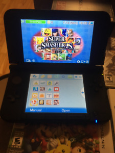 Nintendo 3DS XL /w 4 games for sale