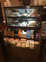 QBD REFRIGERATED BAKERY/DEL/CAFE OPEN AND CLOSED DISPLAY CASE