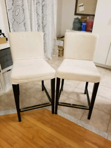 Ikea Henriksdal bar stools set of 4