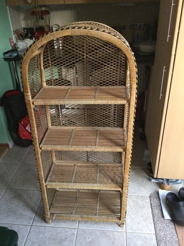 Wicker Shelf Unit In Oxford Oxfordshire Gumtree