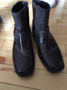 Mens Leather Rockport boots