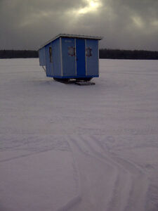 fishing hut for sale
