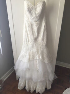 Mermaid wedding dress MINT CONDITION