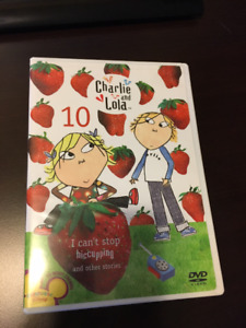 Charlie and Lola DVDs