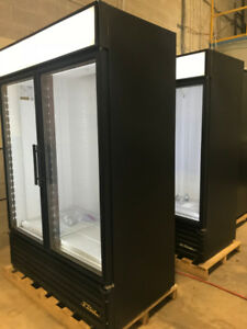 True GDM-49 Two Glass Door Commercial Cooler Refrigerator