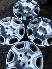 """17"""" Ford Ranger alloy wheels in excellent condition (404)"""