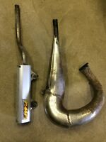 Suzuki LT250r FMF gold series pipe