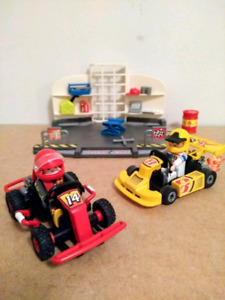 Playmobil Go-kart garage playset (6869)
