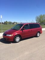 """2003 Honda Odyssey EX """"Reduced to $4000 need gone by end of May"""""""