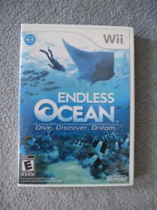 """Wii Game - Endless Dive """"Dive Discover Dream"""""""