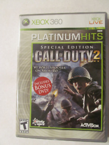 XBOX 360, Call of Duty 2, Special Edition, Xbox 360 COD2 game