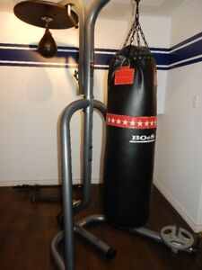 Boxing Bag and Equipment