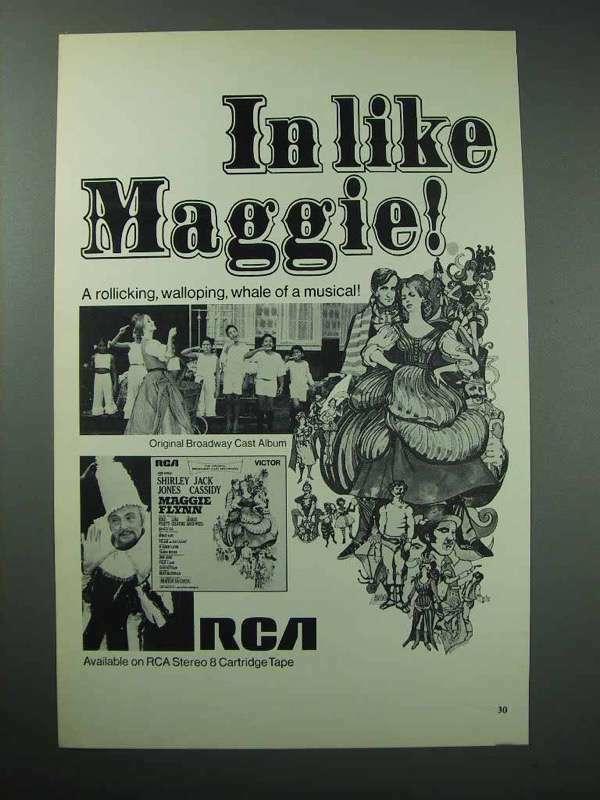 1968 Maggie Flynn Broadway Cast Album Ad