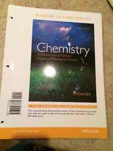 "Niagara College Pre Health Sciences Textbook ""Chemistry"""