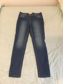 Dark denim jeans size 12