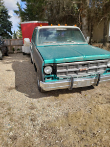 1978 GMC 1/2 ton pick up project
