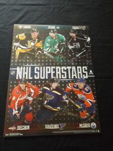 "NHL Superstars: Crosby, McDavid, Ovechkin 18"" x 24"" Poster"