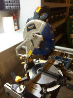 "10"" Mastercraft Compound Miter Saw"