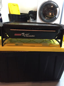 Colemen Propane Camping griddle