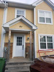 Townhouse in sunset ridge Middle Sackville available May 1st