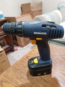 12v cordless drill with battery, no charger