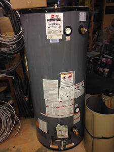 Rheem Commercial Powervent Gas Water Heater