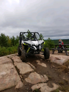 2016 Can-am Maverick Turbo with trailer possible trades