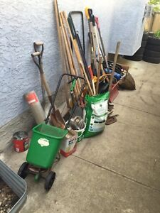 Garden and Hand Tools $30.00