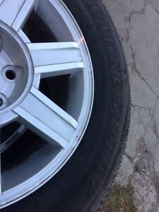 NEW CHEVROLET TRUCK MAGWHEELS AND TIRES
