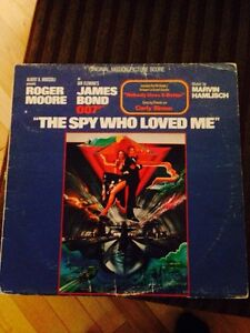 James Bond the spy who loved me LP