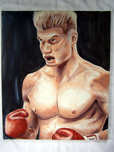 Original acrylic painting DRAGO (2nd composition)