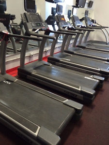 Cybex commercial treadmill with TV