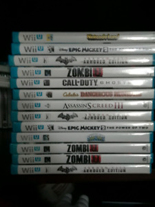 Wii u games for trade