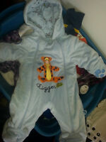 Newborn & Size 3  months Boy Snowsuits