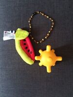 Teethers & Amber Necklace