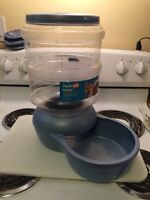 Brand new dog food dish/container
