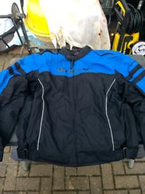 Textile motorcycle motorbike jacket