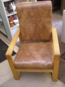 Large Brown Chair