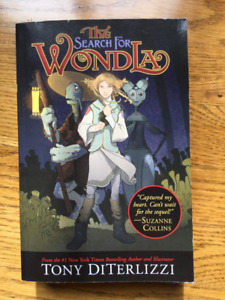 Book - NEW - The Search for Wondla by Tony DiTerlizzi
