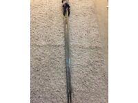 Scott classic ski sticks poles in grey and yellow 130cm